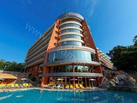 Vacanta la Nisipurile de Aur! Voucherul de 25 Lei iti asigura pretul redus de 249 Euro/persoana pentru un sejur de 5 nopti (6 zile) cazare in regim All Inclusive la Hotel Atlas 4*! - Dream Deals