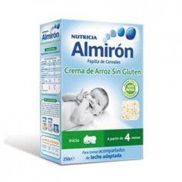 Almirón crema de arroz para bebes a partir del 4 mes #almiron #arroz #cereales #bebe