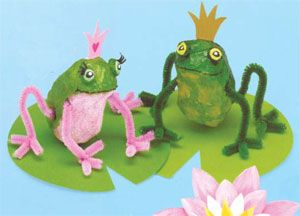 Just For Fun - the September newsletter is out.  I love the Activity ideas in it like these frogs!  And there are some great Hallowe'en and Christmas books being released this month