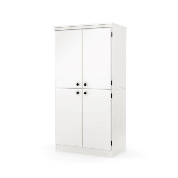 Morgan 4 Door Storage Cabinet D White Storage Cabinets Door Storage Storage Cabinets