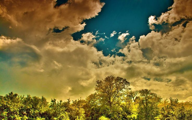 sky spectacular clouds hd picture