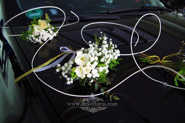 Pin Na Dekofloris Dekoracja Samochodu