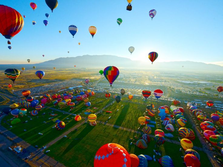 Flying High : 10 Sights at the Albuquerque International Balloon Fiesta : TravelChannel.com