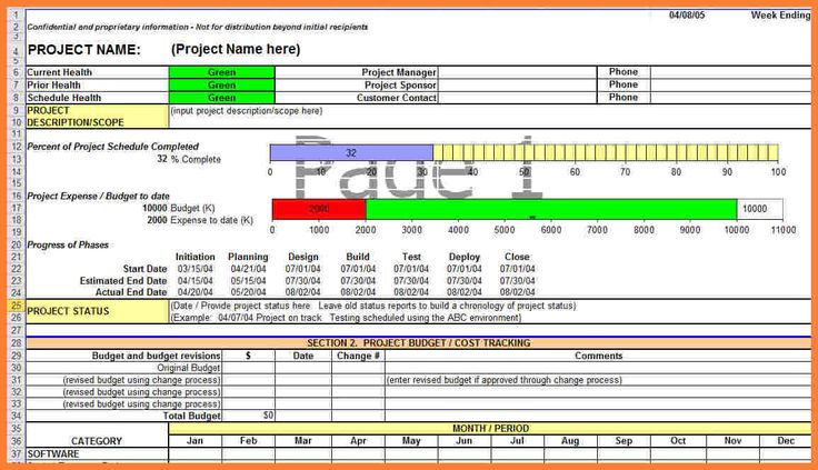 progress report template for construction project free word pdf documents download