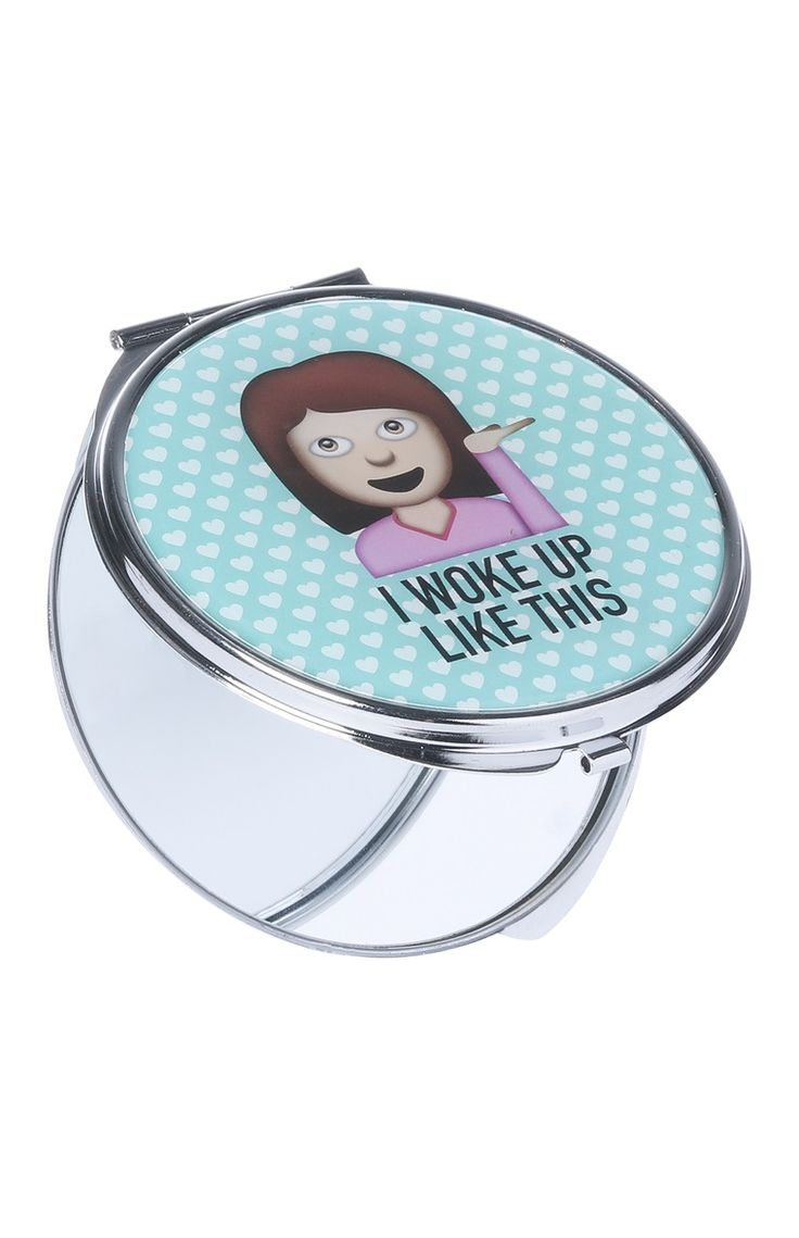 Woke Up Like This Compact Mirror