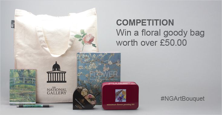 Get creative and design your own National Gallery Bouquet for your chance to win a goody bag worth over £50! Simply select a painting, create your bouquet (an actual bouquet, a drawing or a painting) and enter by using hashtag #NGArtBouquet #Competition