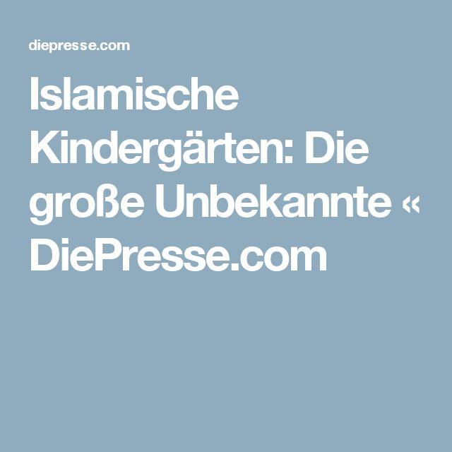 Islamische Kindergärten: Die große Unbekannte « DiePresse.com