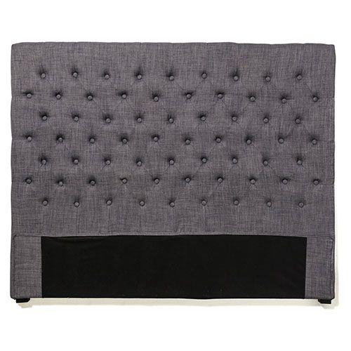 Medina Bedhead Grey