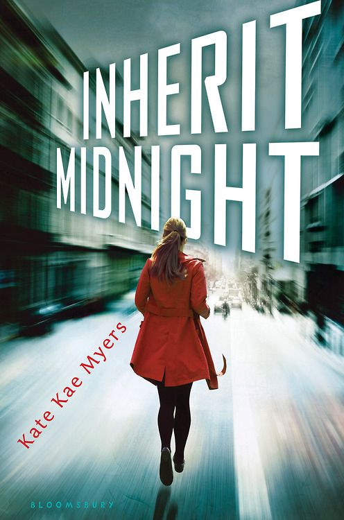 Cover Reveal: Inherit Midnight by Kate Kae Myers  -On sale February 10th 2015 by Bloomsbury USA Childrens - Avery VanDemere says she's lived her whole life in prisons—-one is a mansion, the others are private schools—-but prisons, still. That's why, during the last couple of years, she's perfected the ability of learning how to escape.