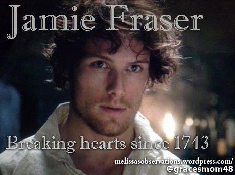 Jamie Fraser, Heart Breaker