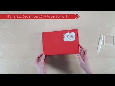 Paper Pumpkin December 2014