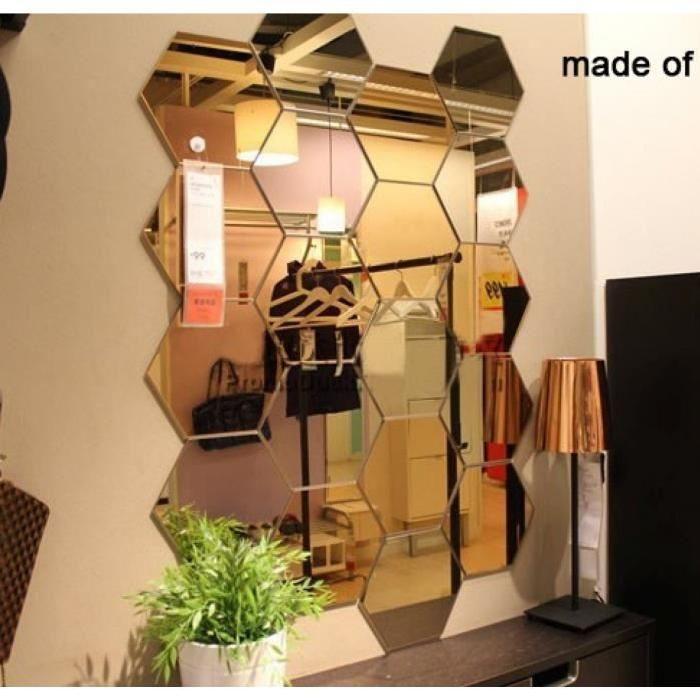 Les 25 meilleures id es de la cat gorie miroir hexagonal for Adhesif geometrique