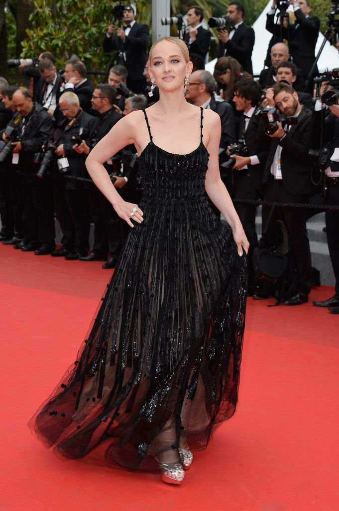 Jess Weixler in Armani Prive