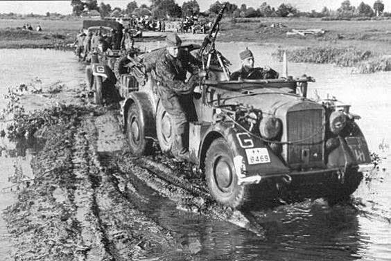 Russian roads WW2.