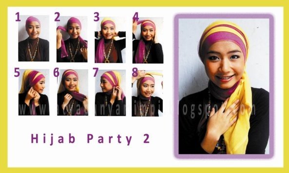 How to use hijab part #7