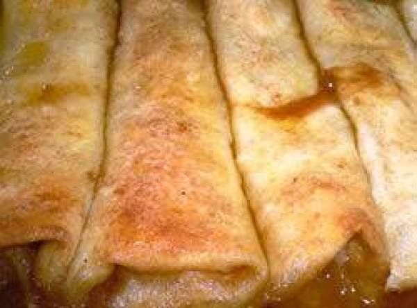 Apple Pie Enchiladas Recipe
