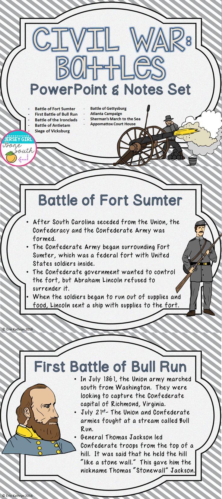 Pre civil war notes