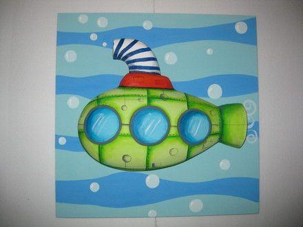 Cuadros infantiles con relieve - Río Primero - Objetos de decoración - produtos