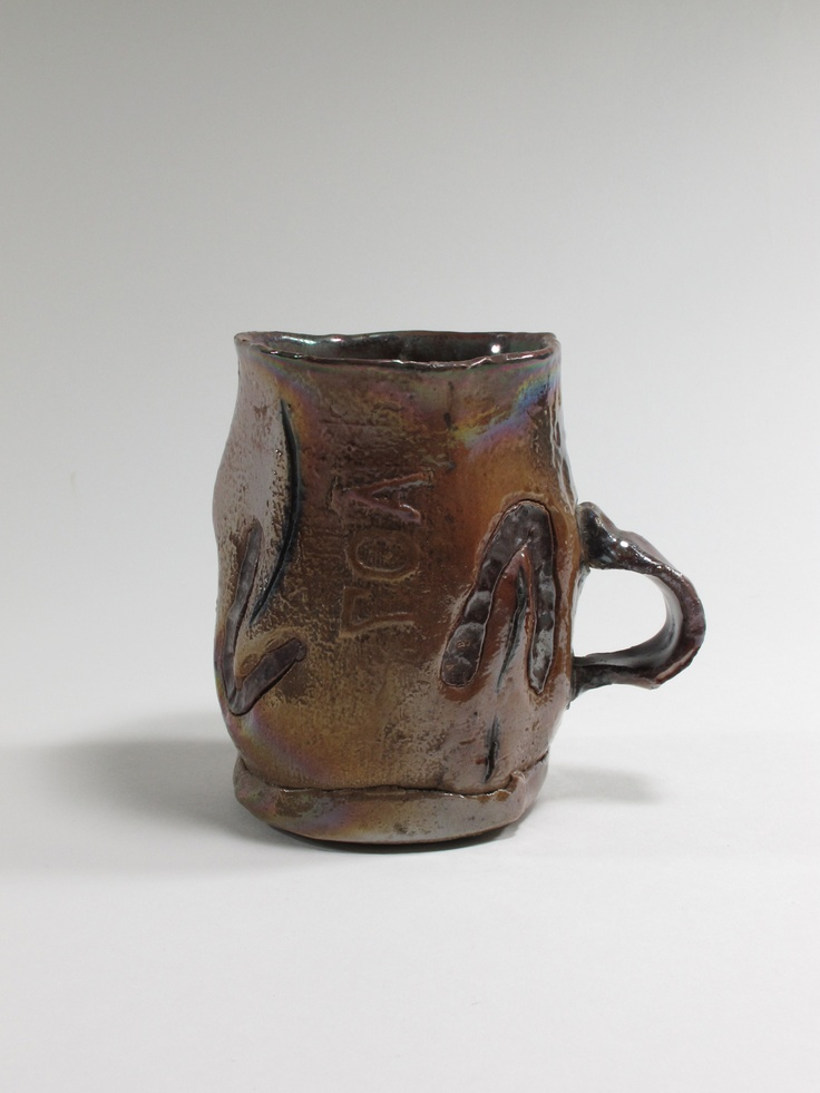 Peter Hawkesby, mug, 1980, Auckland, New Zealand. Collection of Auckland Museum 2003.66.25