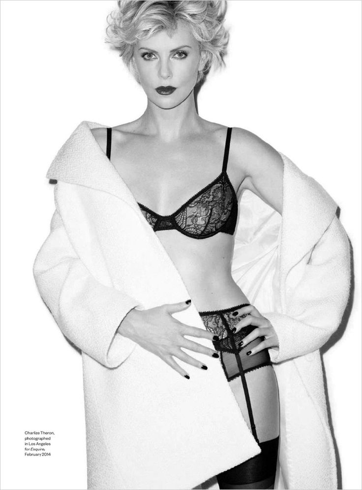 Charlize Theron for Esquire UK by Terry Richardson ...