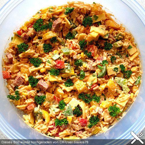 Ungarischer Reissalat (Rezept mit Bild) von woodlousy   Chefkoch.de