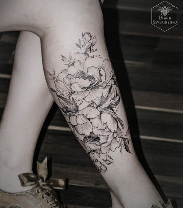 leg tattoo for girl - 55 Lovely Tattoos for Girls  <3 <3