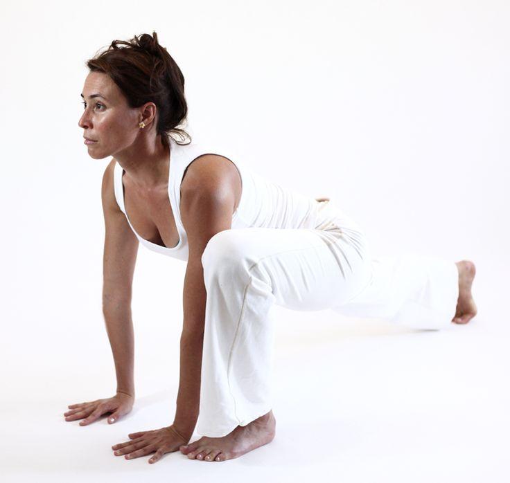 uttanpristhasana lezard posture ouverture bassin yoga&vedas