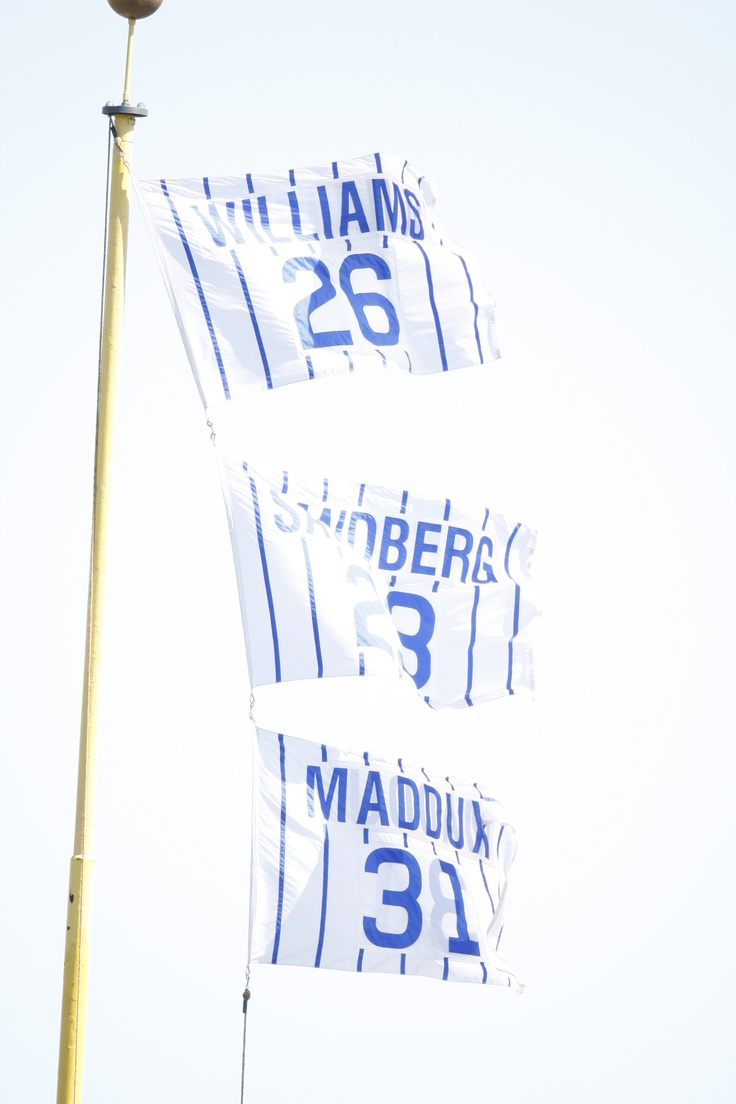 Cubs legends Billy Williams, Ryne Sandberg and Greg Maddux