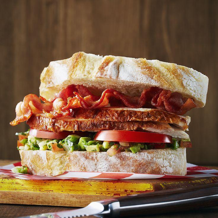 Deluxe California Club Sandwich