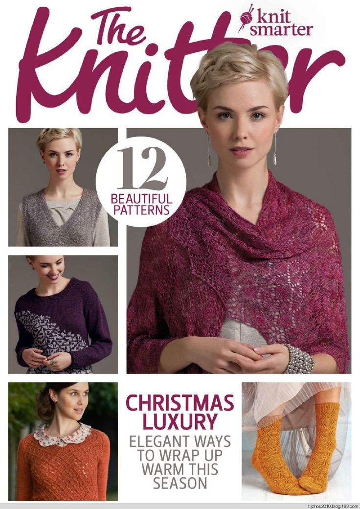 The Knitter №78 2/2015- p.87 - man's basic sweater, round neck
