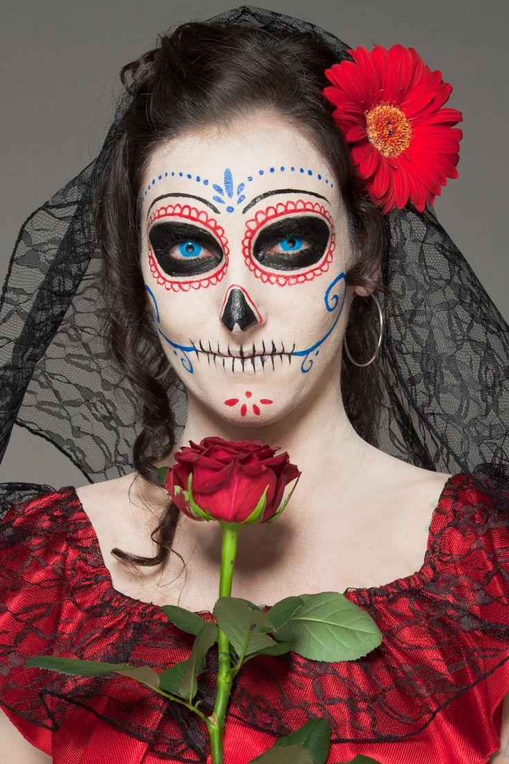 Макияж на Хэллоуин | Страшный макияж на Хэллоуин фото | Женский журнал Ladyzest.com