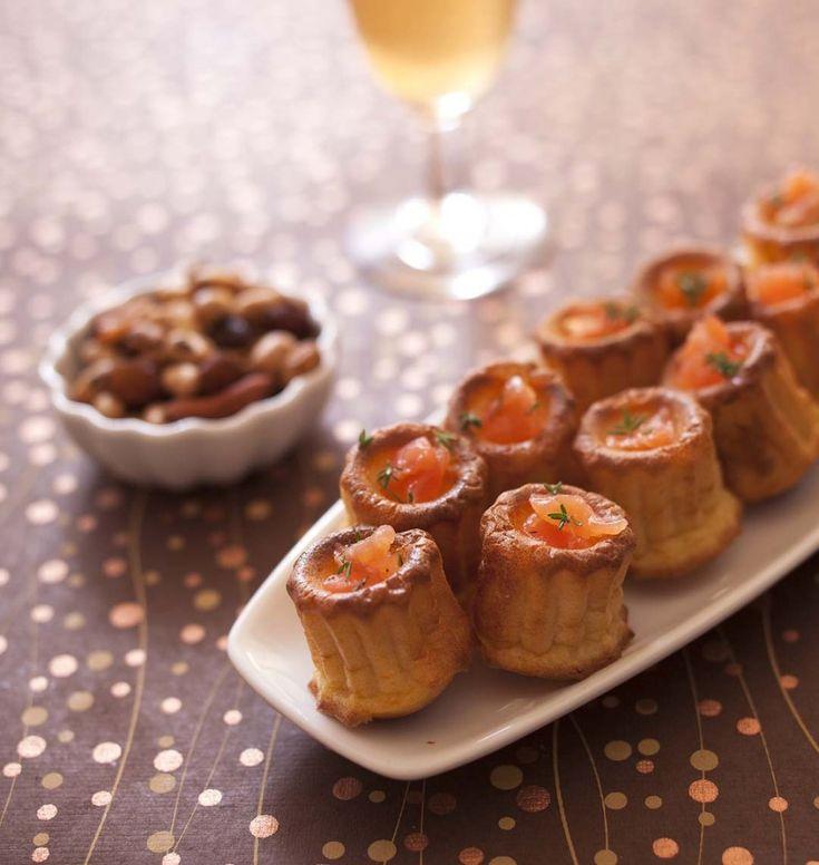 Cannelés à l'orange et au saumon fumé - les meilleures recettes de cuisine d'Ôdélices