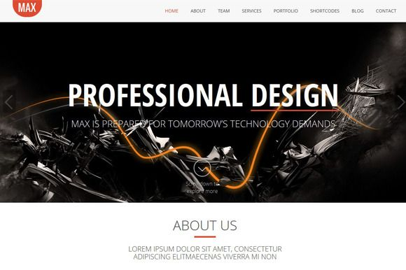 Check out Max Bootstrap Premium HTML Template by Studio 7 on Creative Market