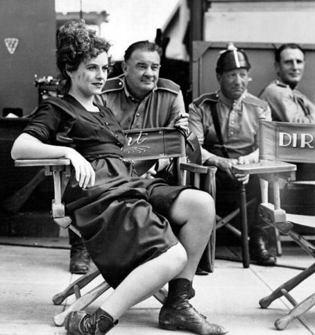 """chaplin-images-videos: """" pablo82: """" The Great Dictator. (1940) """" Paulette Goddard - The great dictator """" The man in the center, dressed as the storm trooper, Hank Mann most famously played the boxer that beats the tramp in """"City Lights"""". """"He first..."""