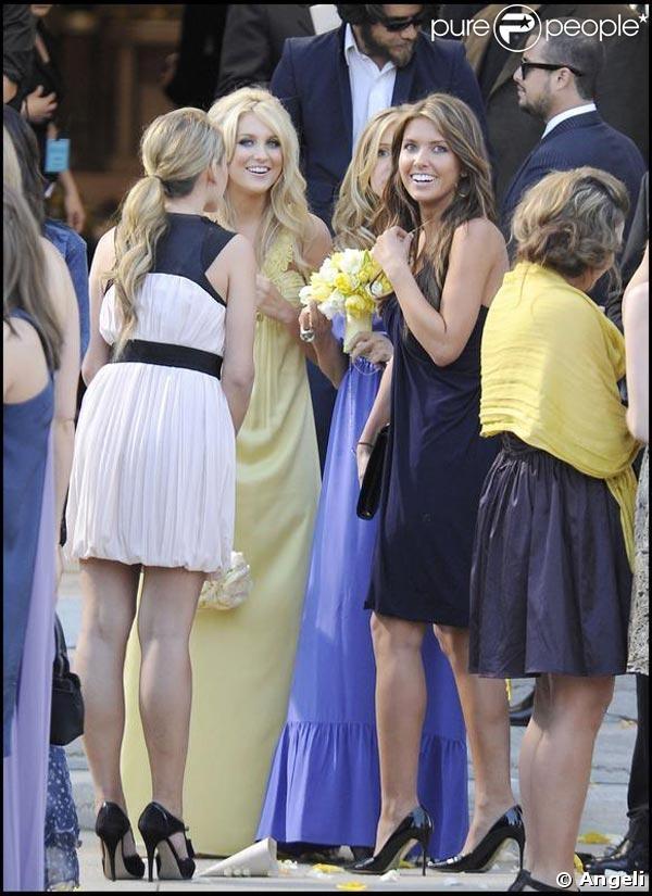 Lauren Conrad And Audrina Patridge | Lauren Conrad et Audrina Patridge, lors du mariage de Heidi Montag et ...
