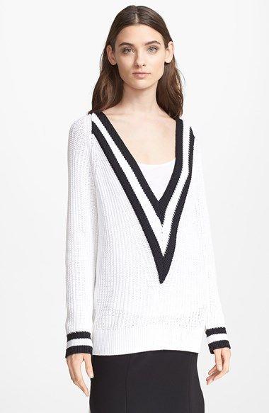 rag & bone 'Talia' V-Neck Sweater available at #Nordstrom