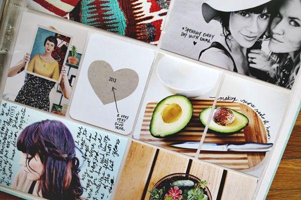 Creative Album Summer memories - Ideas and handheld digital scrapbook making