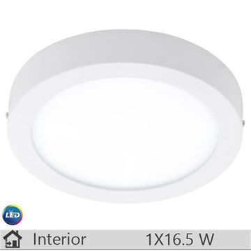 Plafoniera LED iluminat decorativ interior Eglo, gama Fueva, model 94075
