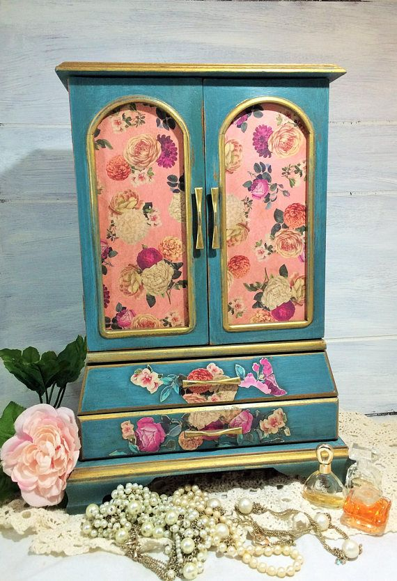 Tall Jewelry Armoire French Jewelry Box Armoire Large