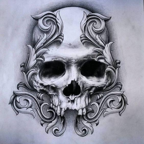 Imagenes de calaveras para dibujar