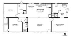 4 Bedroom 2 Bath House Floor Plans besides 502503270896080015 furthermore Unique Small Homes Plans in addition Clayton Homes further Vienna Aluminum Barstool. on manufactured home interior designs