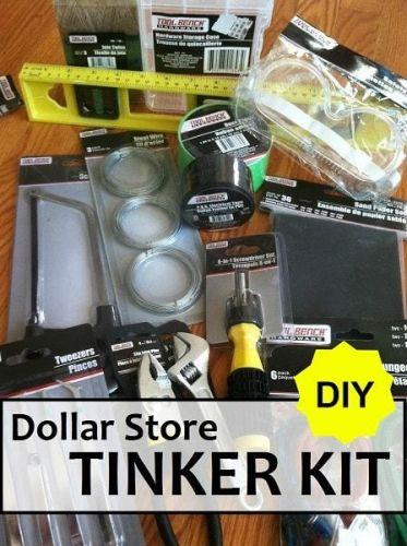 DIY Dollar Store Tinker Kit