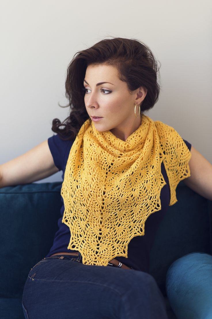 Gorgeous crochet Adeline Shawl Pattern by Chandi Agee at Expression Fiber Arts - Pineapples upon pineapples upon pineapples