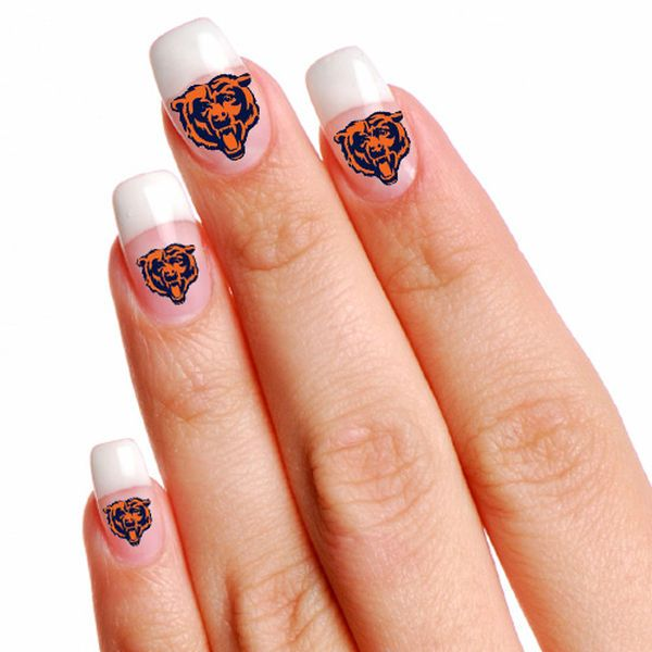 Chicago Bears WinCraft Fingernail Tattoos - $2.99