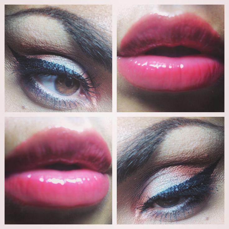 Summer #makeup look☀️ #me #makeuplook #summer #summerlook #makeupsummer #eyeliner #bronzemakeup #fotd #beauty #browneyes #lipgloss #essence #mulac #mulaccosmetics