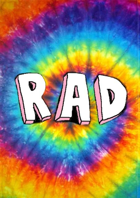 Rad Tie Dye Background