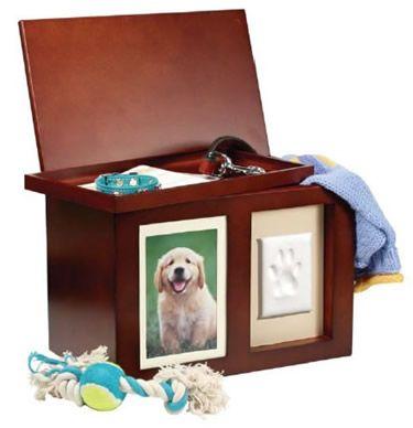 Pawprints Memory Box