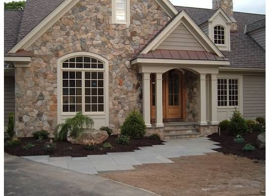 20 best images about new home on pinterest - Exterior stone paint model ...