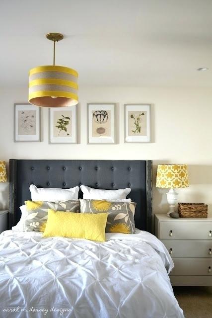 Gelbe Schlafzimmer Ideen #boho #wandfarben #schlafzimmerbett #wohnideenschlafzim…
