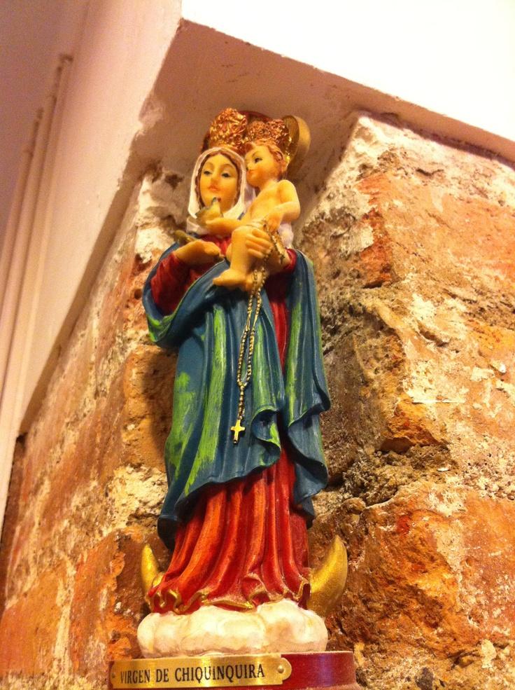 La que nos cuida en @021Espai #Virgen #chinita #Chiquinquira